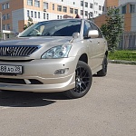 Toyota Harrier gold